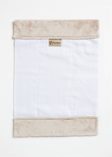 Burp'nBaby Chenille Burp Cloth, Latte (Chenille Infant Burp Cloth)