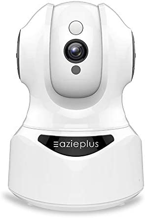 WiFi Pet Camera Indoor,Eazieplus Baby Monitor , 360-degree Wireless IP Nanny Camera, 1080P Home Security Camera Motion Tracking IR Night Vision, Works with Alexa, Two-Way Audio, Motion Detection.