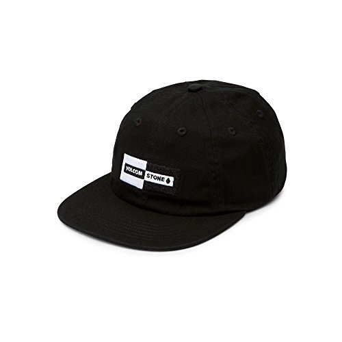 Skate Cap Hat (Volcom Men's Same Difference Eight Panel Adjustable Hat)