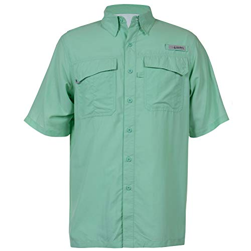 HABIT Men's Taku Bay Short Sleeve River Guide Fishing for sale  Delivered anywhere in USA