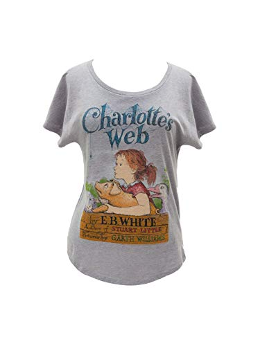 Out of Print Charlotte's Web Dolman Shirt Small
