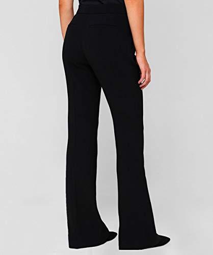 Nero Pantaloni Punto Da Beckham Victoria Triplo Donna Sartoriali XP0nq
