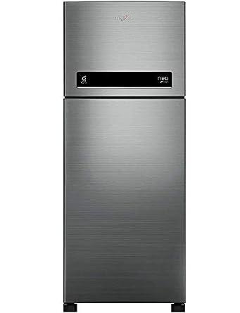 Whirlpool 245 L 2 Star ( 2019 ) Frost-Free Double-Door Refrigerator (NEO DF 258 ROY (2S), Arctic Steel)