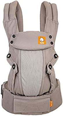 Breathable 45 lb Coast Beyond Multiple Ergonomic Positions Front and Back Baby Tula Coast Explore Mesh Baby Carrier 7 Adjustable Newborn to Toddler Carrier Light Blue with Light Grey Mesh