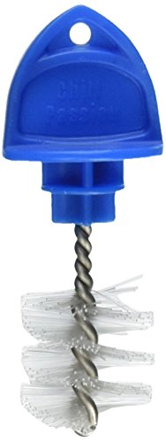 Bev Rite CB45X3 Faucet Hygiene Plug Brush (3 Pack), Small, Blue ()