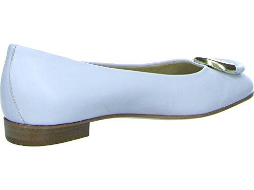 Weiß Stefy Weiß 262306 Schnalle Gabriele Damen 5695 Ballerinas WECOXOq