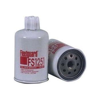 fleetguard separator fuel/water spin on part no: fs1251