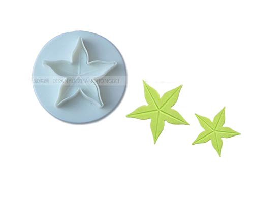 Best Quality - Clay Extruders - 3pcs/lot Five Stars Shape Cutters Sugarpaste,Rolled Fondant, Gum Paste, Craft Clay, Cake Tool - by GTIN - 1 PCs from Viet SC