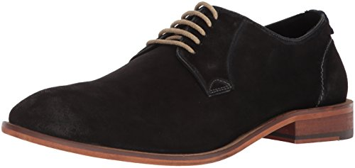 Carolina Oxfords Shoe (Steve Madden Men's TASKEN Oxford, Black Suede, 11 M US)