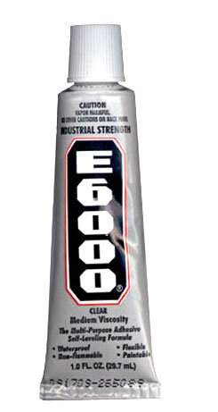 E-6000 Glue Will Fasten Almost Anything (Pkg. of 2)