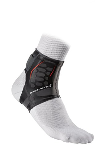McDavid Runners Therapy Achilles Sleeve, Black, X-Large