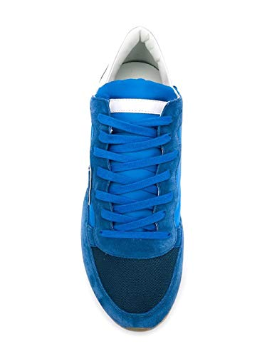 Philippe Blu Sneakers Camoscio Uomo Trluw113 Model qfwrAgqv
