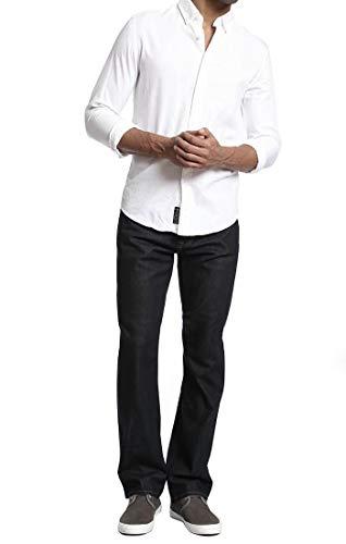 Basic Straight Leg Jeans - Mavi Men's Zach Regular-Rise Straight-Leg Jeans, Rinse Williamsburg, 38W X 30L