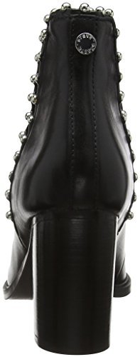 Leather 017 Ankleboot Bottines Madden Black Femme Himmer Noir Steve aqfxUwn