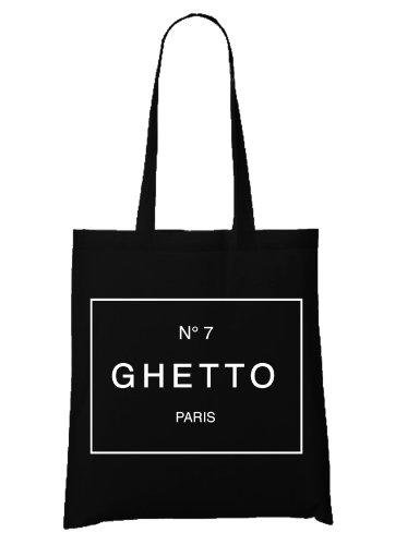 N°7 Ghetto Paris Bag Black