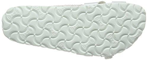 Birkenstock Almere - Zuecos para mujer blanco - White (Pearly White)