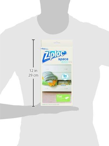 031810700118 - Ziploc Space Bag,  XL Flat Bag, 2 Count carousel main 10