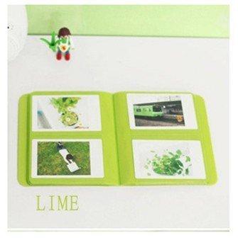 CLOVER Candy Color Fuji Instax Mini Book Album for Instax Mini7s 8 9 25 50s Film Black