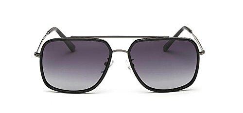 lunettes Lennon cercle Progressif rond Film métallique polarisées en style vintage de retro inspirées du Gris soleil S1qSFrx