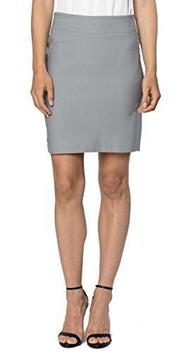 Velucci Womens Stretchable Mini Pencil Skirt - Above The Knee 19