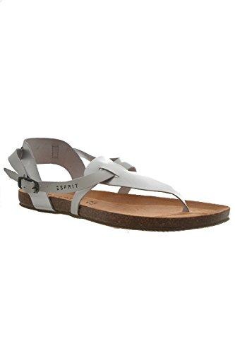 tongs esprit accessoires aisha sandal gris