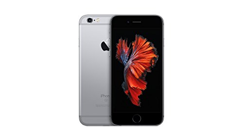 Apple iPhone 6S Factory Sealed Unlocked Phone, 16GB (Space Grey) - International Version, No Warranty