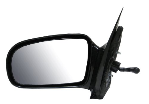Manual Remote Side View Door Mirror Black Assembly Driver Left LH