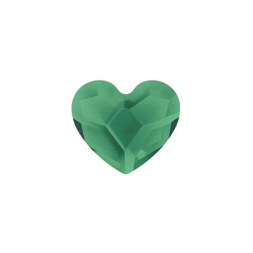 Origami Owl ~ MAY EMERALD SWAROVSKI BIRTHSTONE HEART - Louis Cardinals Stone