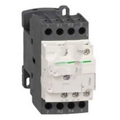 Schneider Electric LC1D258BD , Contactor, Resistive Load, 24VDC Coil, 40A, 4-Pole, DIN Rail, TeSys D by Schneider (Image #1)
