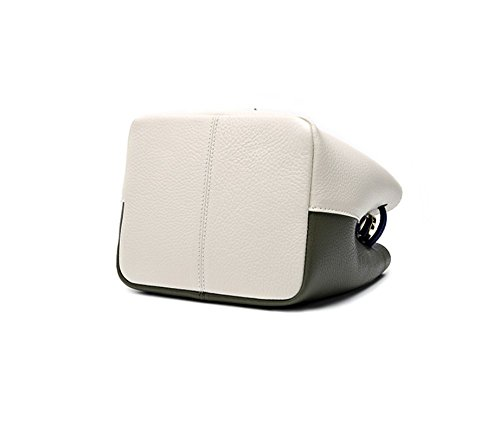 White Messenger Portable En Xddb Cuir Seau Glands And Green Dames Sac ZOwZ8x4