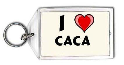 Shopzeus Llavero con Estampado de Te Quiero Caca (Nombre de ...