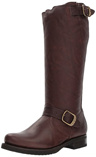 Slouch Boots Veronica - FRYE Women's Veronica Slouch Boot, Dark Brown, 7 M US