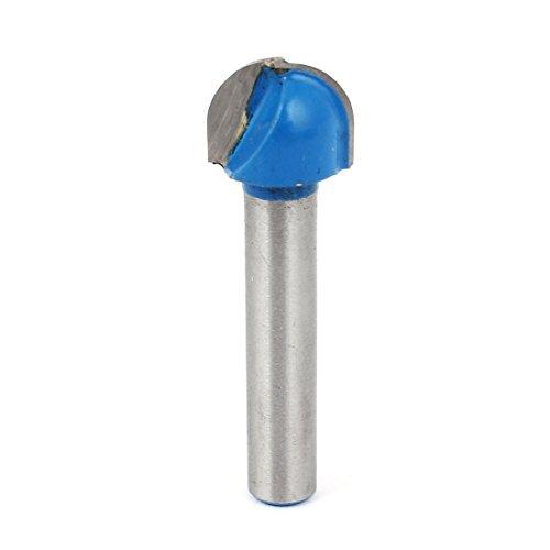 1/4 x 1/2 Carpintaria Hetero Shank Redonda Nose Router Bit