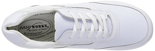 Professional Easy Middy Women's Health Mesh Works Care Shoe White wBX6Bqvy