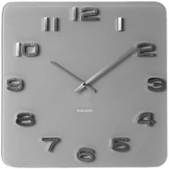 Karlsson Vintage Glass Wall Clock
