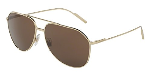 Para Sol Hombre Gold Pale Gafas Gabbana 0 amp; 0dg2166 Dolce De XFR1Yqx