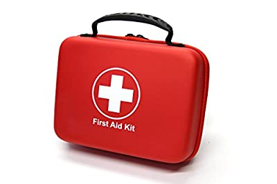 Compact First Aid Kit (168pcs) Designed For Family Emergency Care. Waterproof EVA case&Bag is Ideal for the Car,Home,boat,School, Camping, Hiking,Travel,Office,Sports,Hunting. Protect Your Loved Ones. by Beyond Case