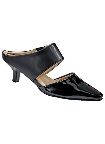 Angelsteps Mujeres Adult Angel Steps Salem Pump Black Patent