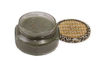 2 Wick Glass Candle - Tyler Two Wicks Glass Candle 11 Oz,Hippie Chick