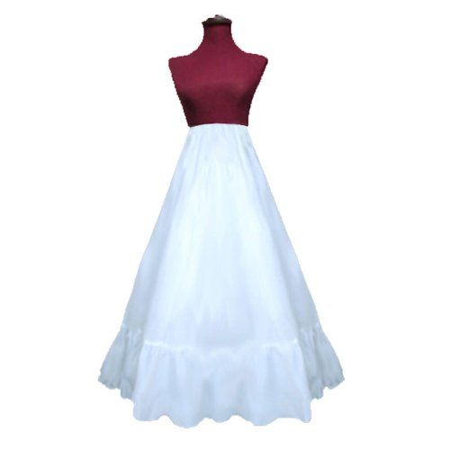 SACAS New A-line Crinoline slip for costume, wedding gown, halloween