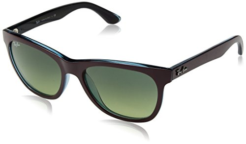 Ray Ban RB4184 Sunglasses-604485 Red (Brown Gradient - Ray Ban Print