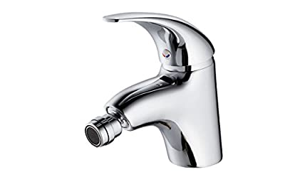 Special hot and cold bidet faucet copper single handle single hole faucet