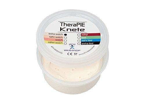 8 verschiedene Stärken schwarz: ex... TheraPIE Knete 85 g Therapie Knetmasse