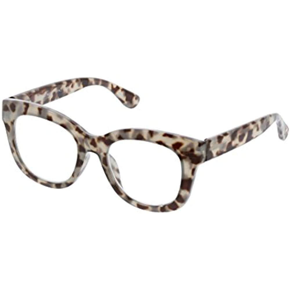 7f3659d3e5 Details about Peepers Women s Center Stage - Gray Tortoise 2490200 Square Reading  Glasses