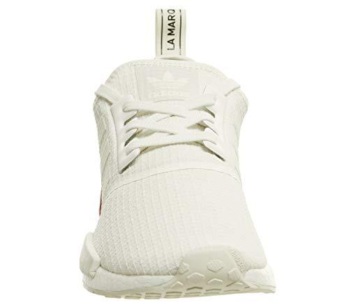 Scarpe Bianco adidas Uomo Stringate NMD r1 Rosso Derby PqxwxEOCY