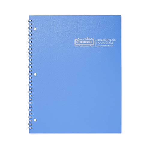 House of Doolittle 2019-2020 Monthly Planner, Academic, Bright Blue, 8.5 x 11 Inches, July - August (HOD26308-20)