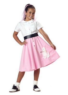 Pink 50's Girl Costume - 9