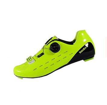 Zapatillas de ciclismo para hombre y mujer, zapatillas de seguridad ligeras antideslizantes transpirables y transpirables, zapatillas EVA de alta densidad y ...