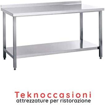 Mesa de trabajo con soporte - Estructura de acero inoxidable ...