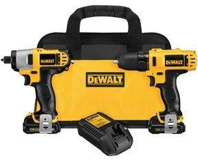 DEWALT DCK211S2 12-Volt Drill/Driver & Impact Driver Combo Kit by (12v Ac Drill Driver)